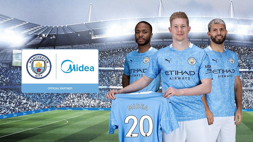 Midea Manchester City Sponsorship