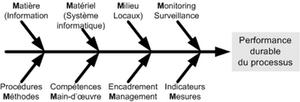 Variante modèle 5M à 8 critères (ou 8M en français)