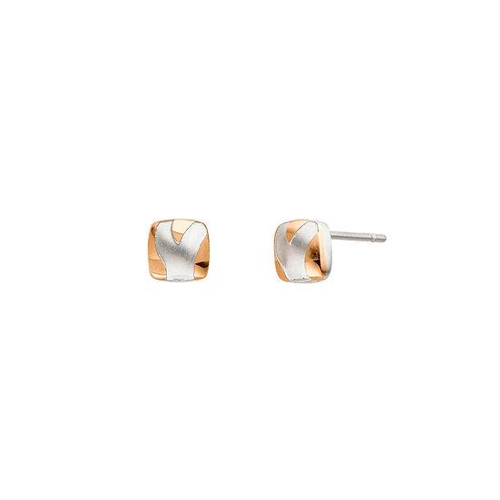 Boucles d'oreilles magnétiques Bicolore Look et Animal Design