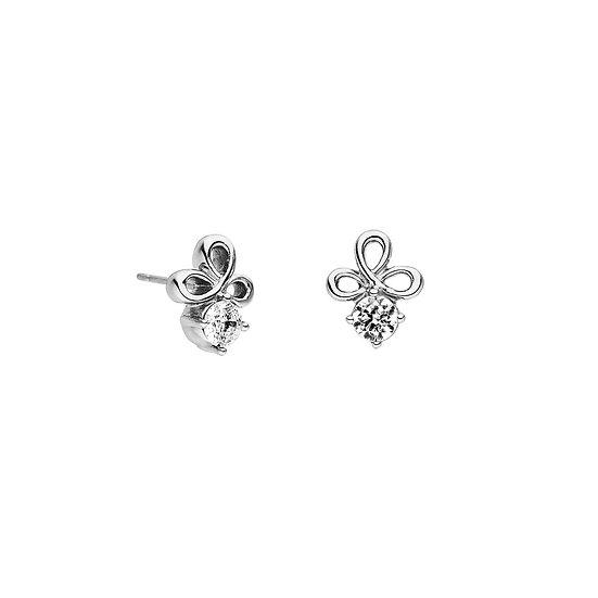Boucles d'oreilles magnétiques Nœud celtique