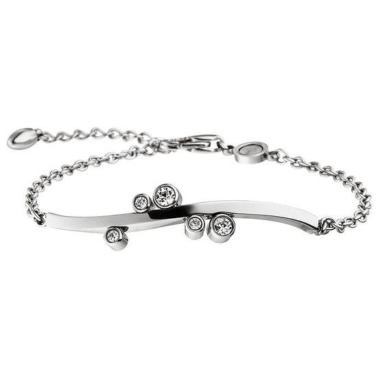 Bracelet magnétique New Wave avec cristaux scintillants
