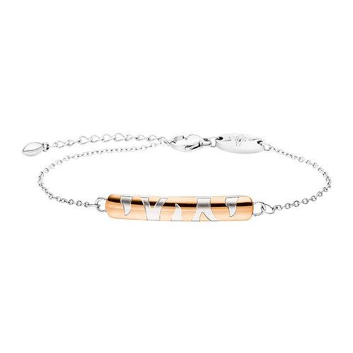 Bracelet magnétique or rose en Animal Design & Optique bicolore