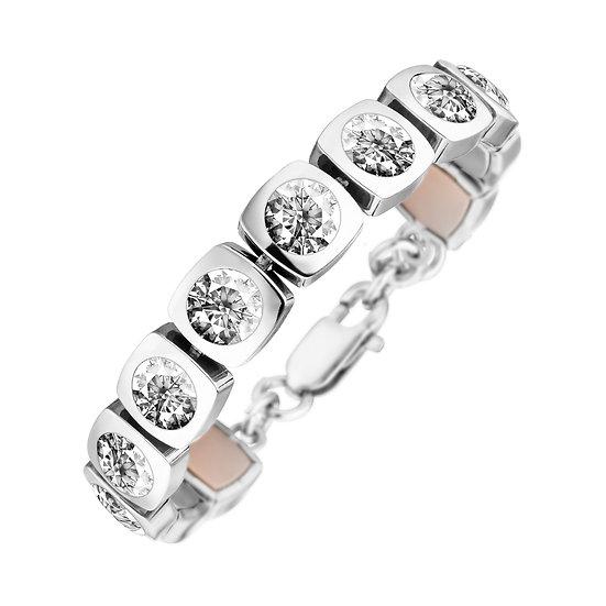 Bracelet Magnétique Cubic Design