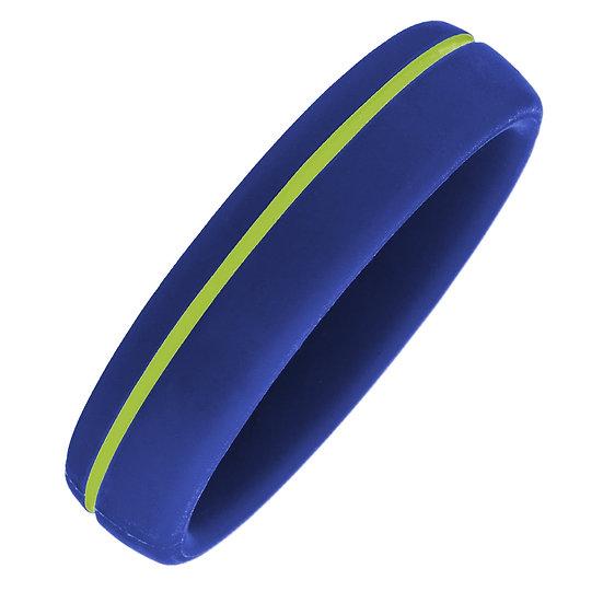 Bracelet magnétique avec ions négatifs en silicone