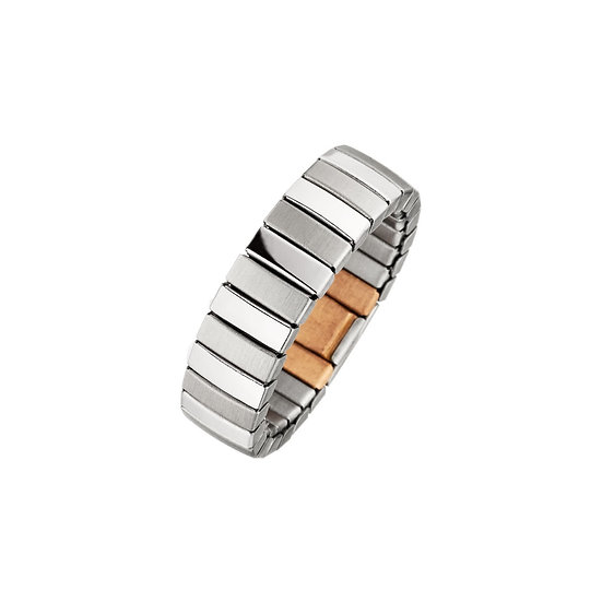 Anneau magnétique flexible en design mat-brillant