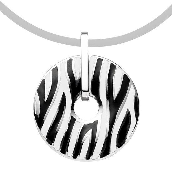 Pendentif magnétique, design Zèbre