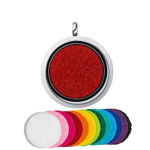 Pendentif magnétique à parfumer de 30 mm