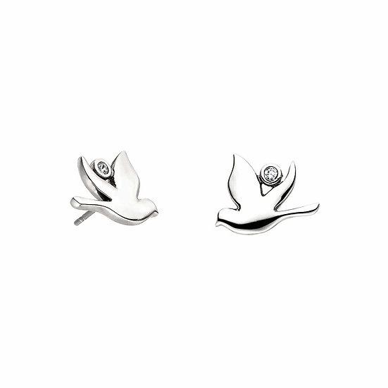Boucles d'oreilles magnétiques Colombe