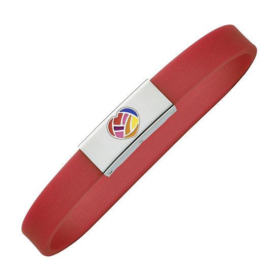 Bracelet magnétique avec ions négatifs