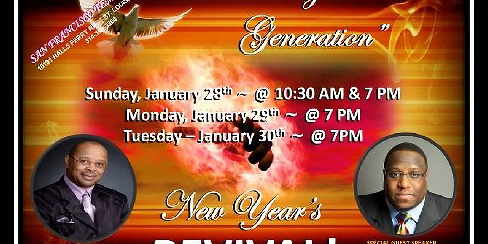 """""""Reaching the NOW Generation"""" New Year's Revival"""