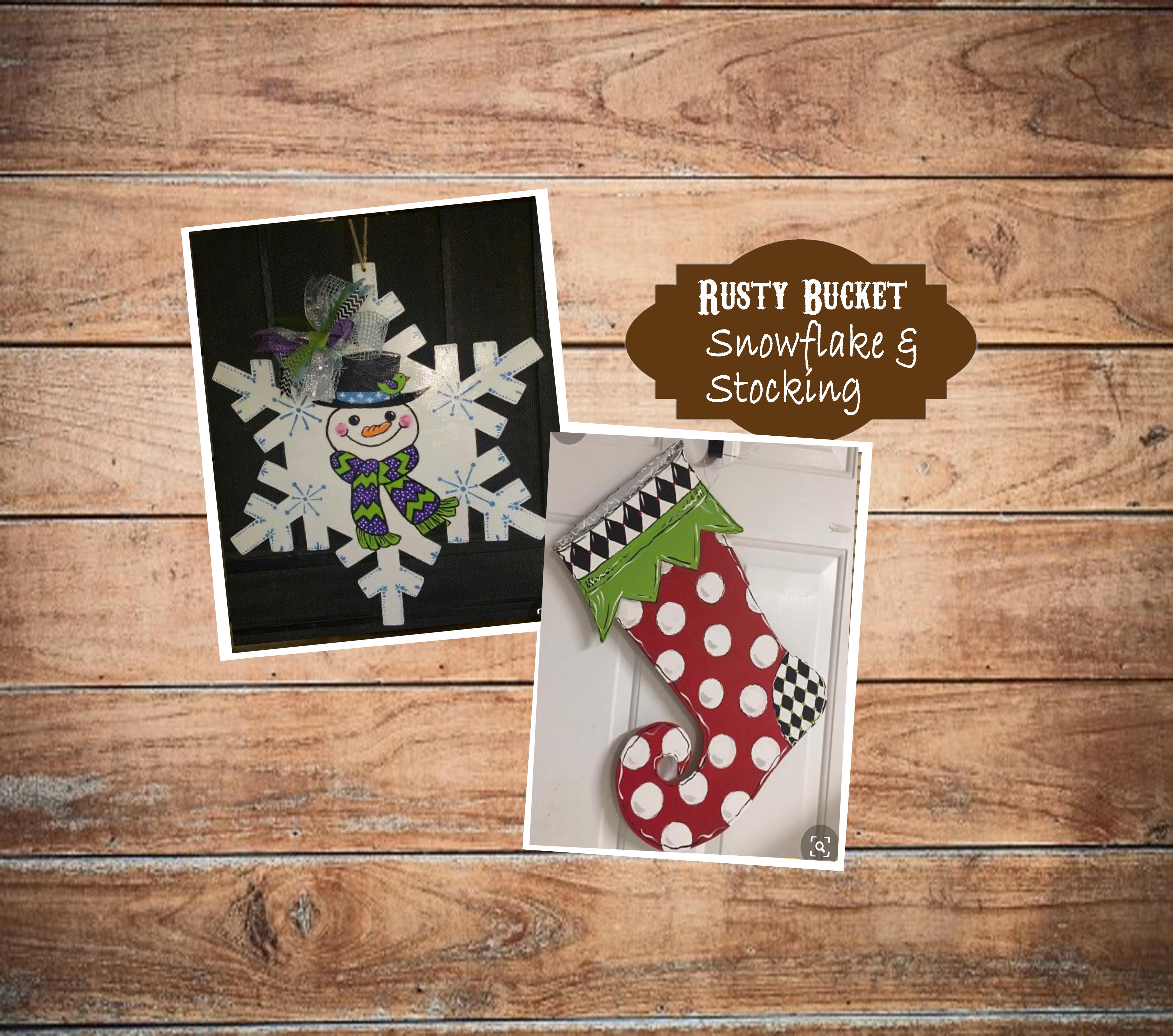 Snowflake & Stocking Workshop | Dec 10