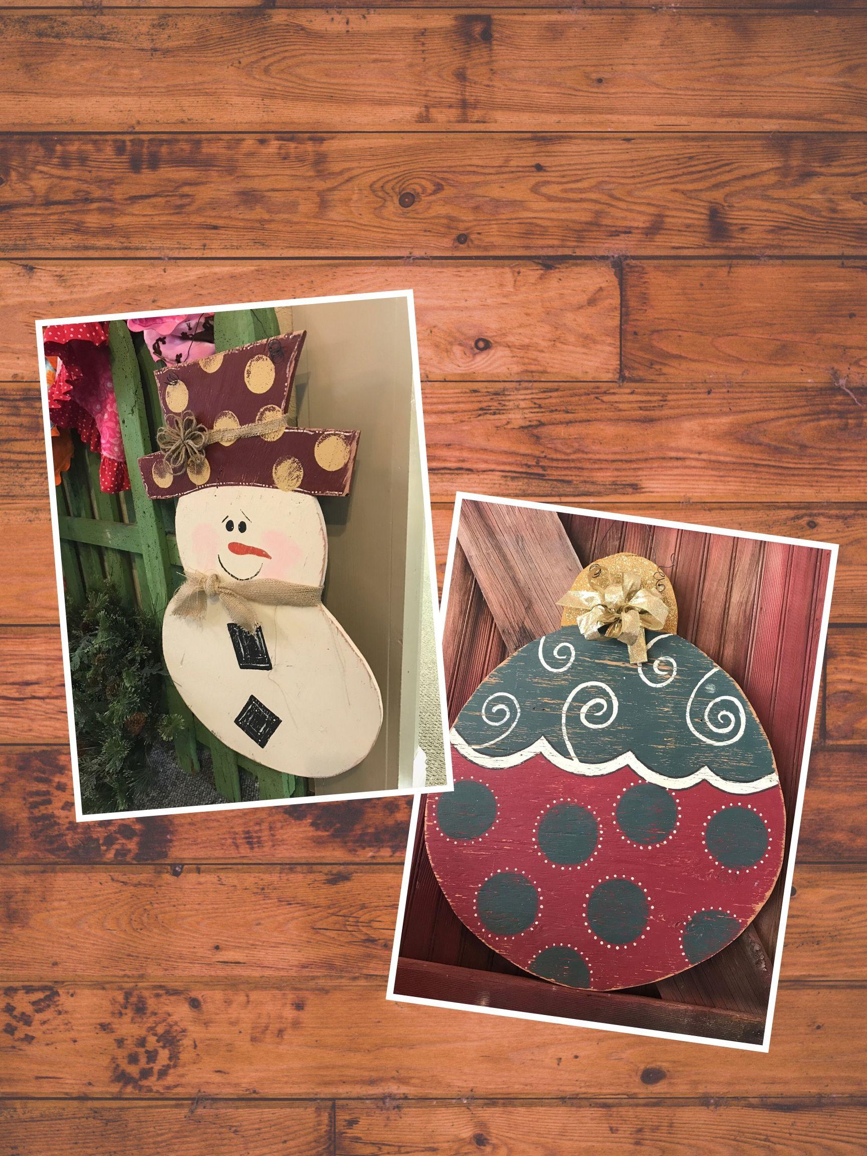 Snowman & Ornament Workshop | Dec 8