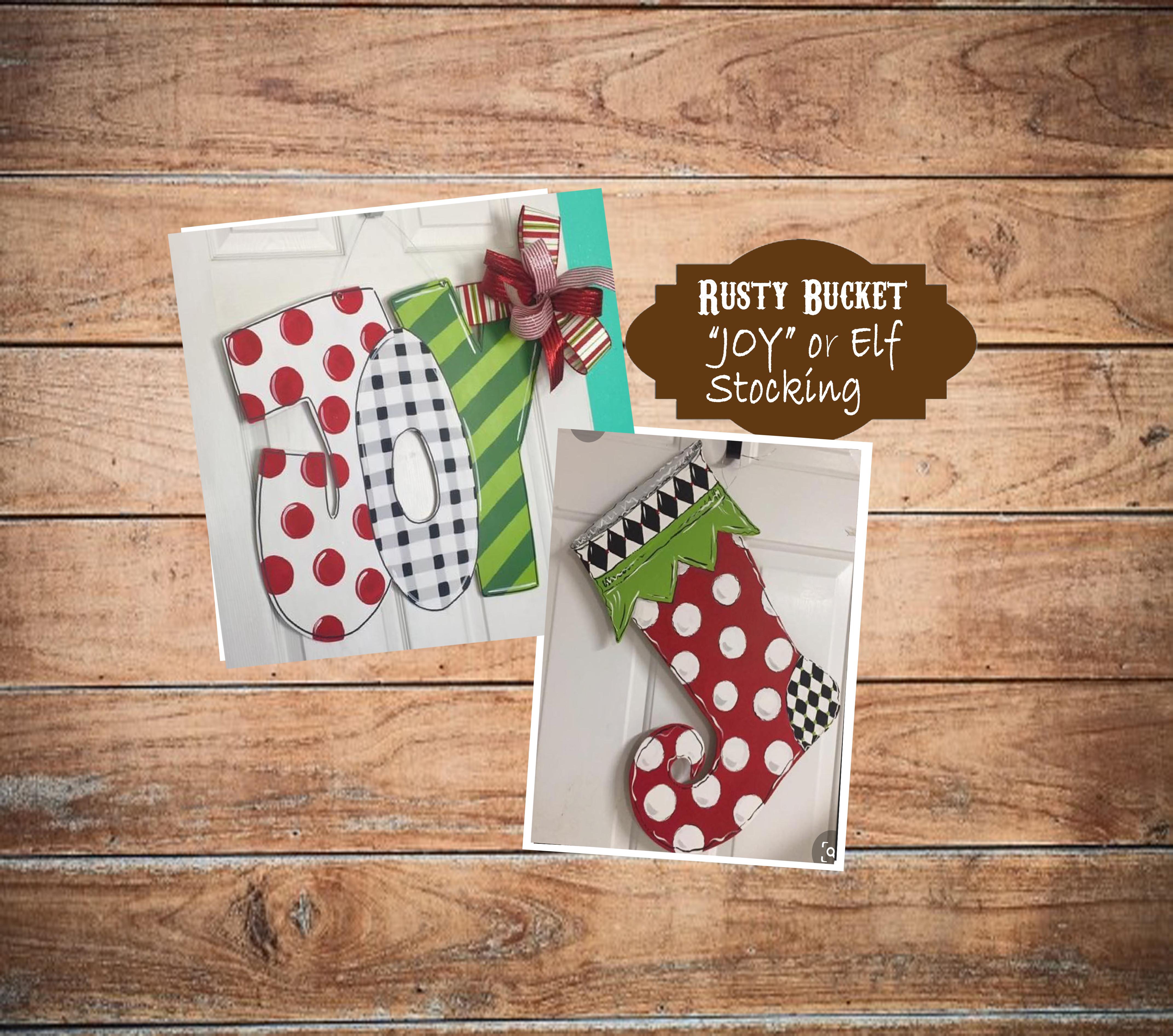 Elf Stocking or JOY | Dec 14