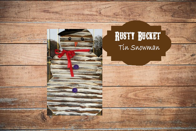 Kids Class - Tin Snowman | Dec 14
