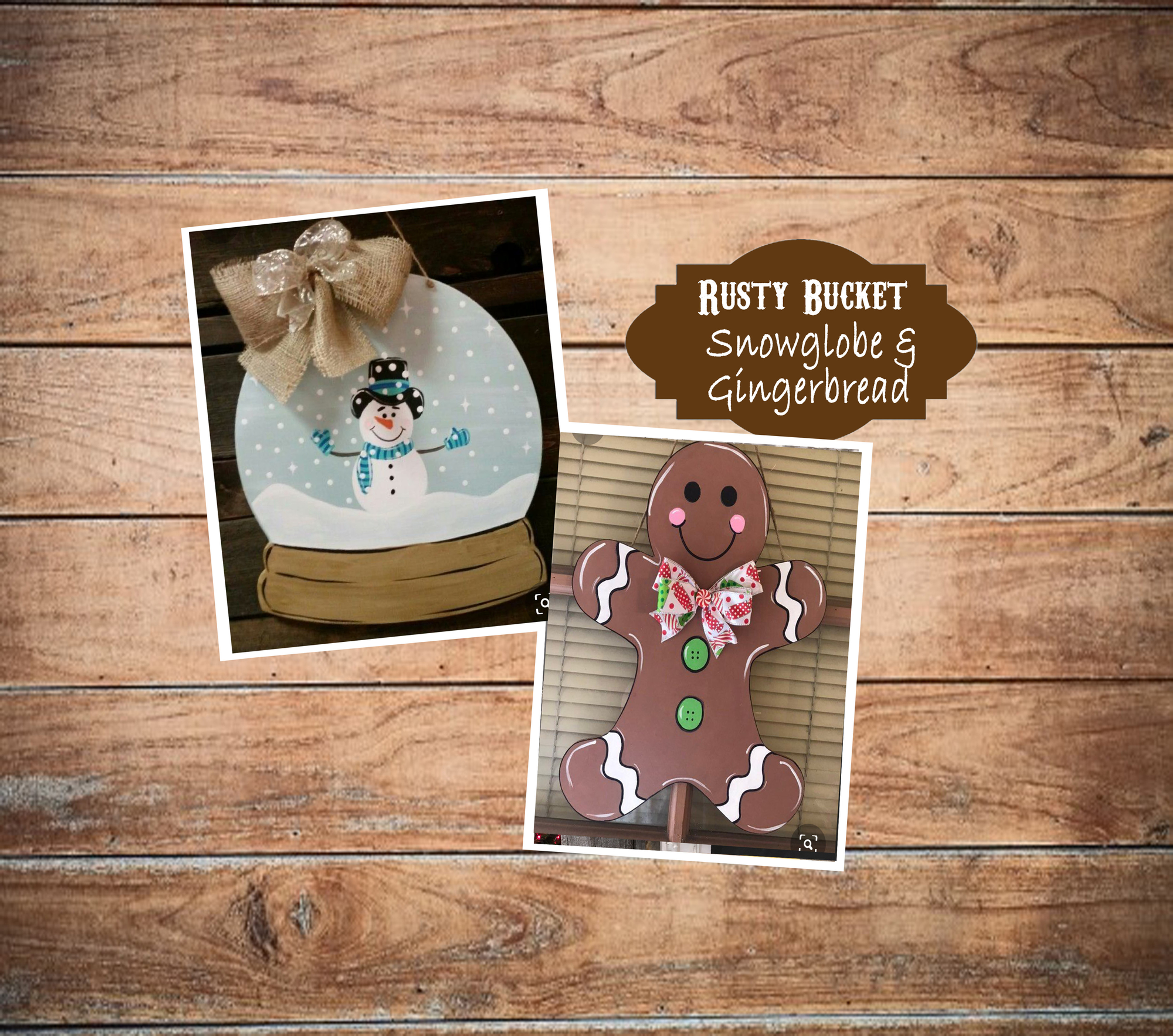 Snowglobe & Gingerbread Workshop | Dec 7