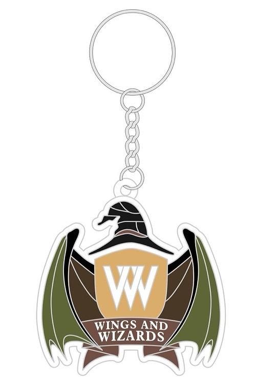 Wings & Wizards Logo Keychain