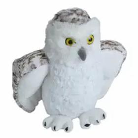 "Snowy Owl Stuffed Animal - 12"""