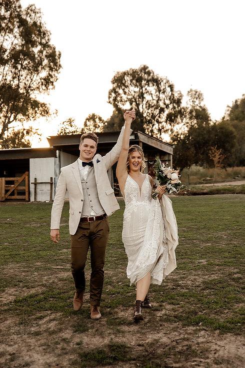 Country Farm Rustic Wedding North East V