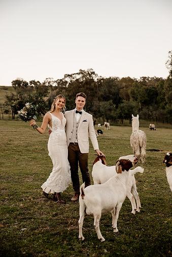 Country Farm Rustic Wedding North East Victoria