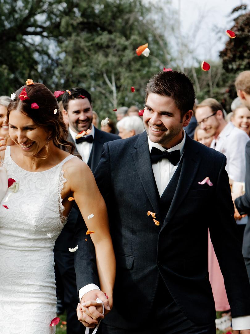 Mellyrain Events Garden Wedding Sheppart