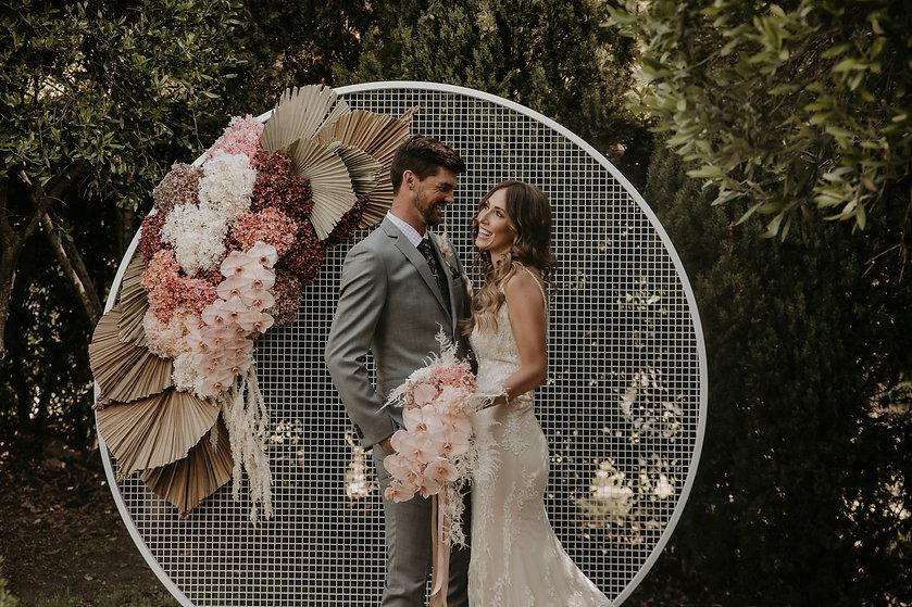 Mellyrain Events Wedding Planner & Stylist Modern Country