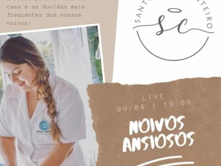 NOIVOS ANSIOSOS - Esteticista Carla Bonfim x Talharim de Abobrinha