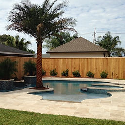 Enjoy your own backyard oasis in privacy