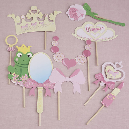 Photo Booth Props - Princess Party