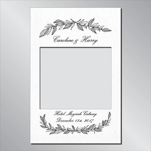 Wedding Frame Photo Prop - Classic Light