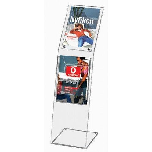 Monoblock Brochure Stand