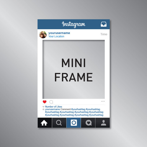 Instagram Frame Photo Prop - MINI
