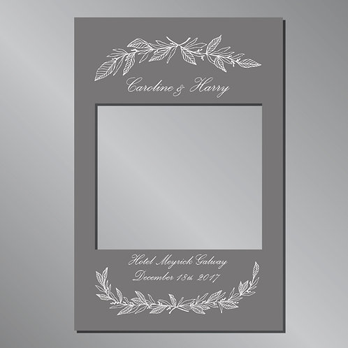 Wedding Frame Photo Prop - Classic Grey