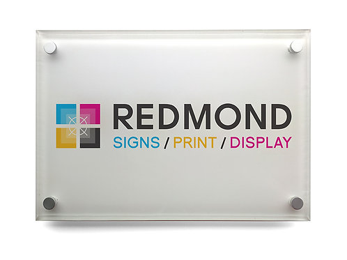 Acrylic Nameplate (A4)