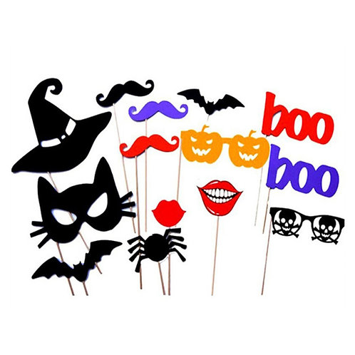 Halloween Photo Props (14pc)