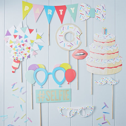 Photo Booth Party Props - Pick And Mix