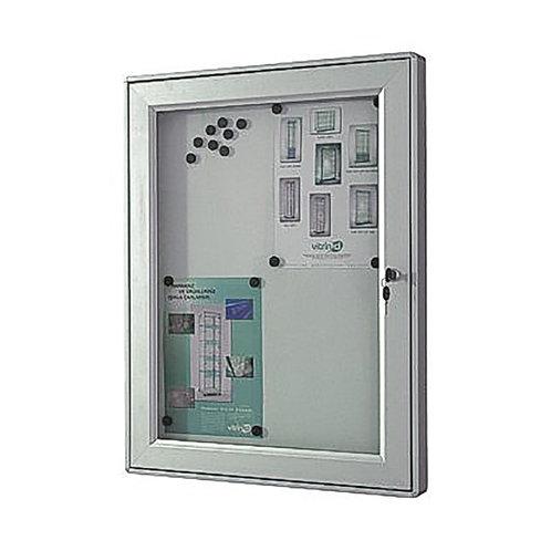 Outdoor Lockable Magnetic Notice Board (9xA4)