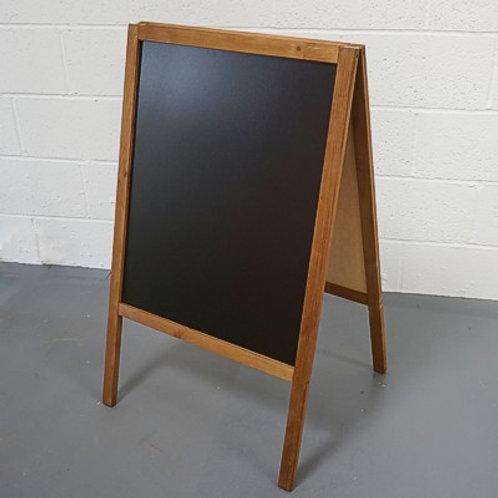 Economy chalk A-board