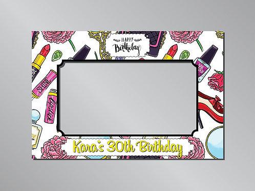 Birthday Girl Frame Photo Prop
