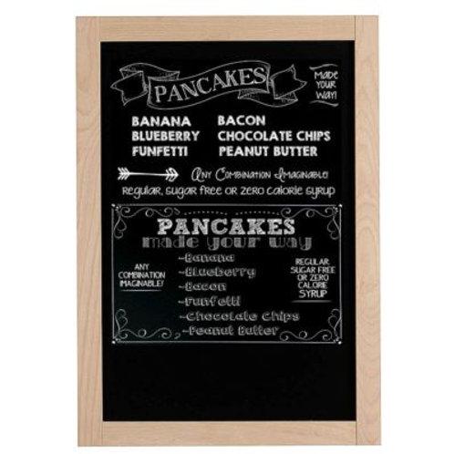 Beech Wood Framed Chalkboard/Blackboard (400x600mm)