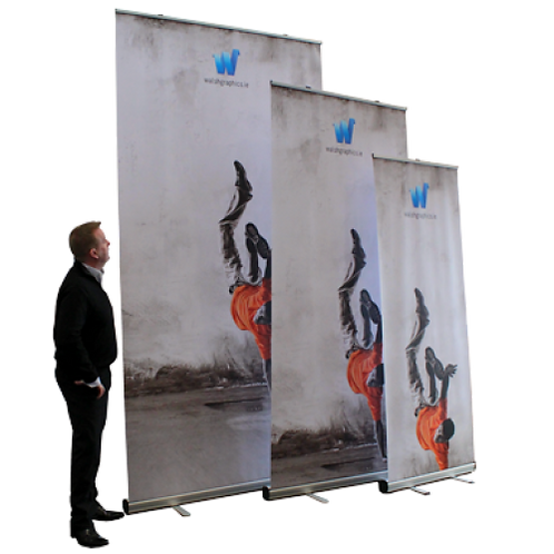 Giant Mosquito Roll-Up Stand (1200mm)