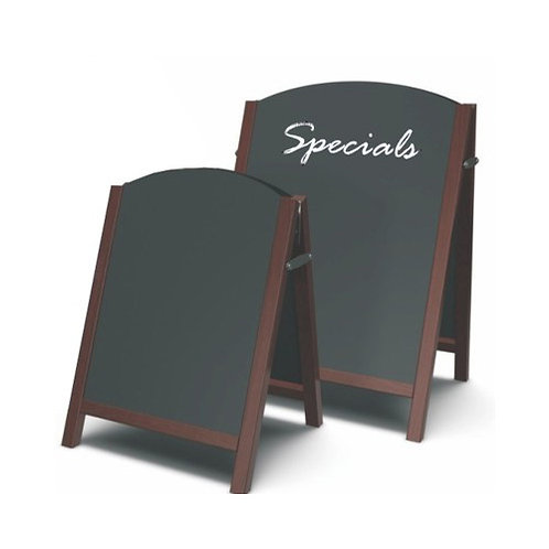 Premium wood chalkboard A-board (Large)