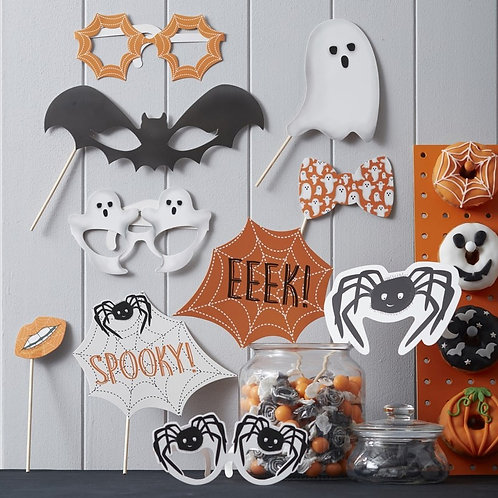 Spooky Halloween Photo Booth Props - Spooky Spider