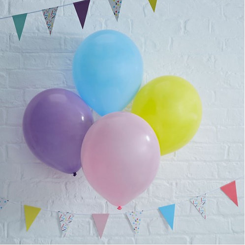 Colourful 11 Inch Balloons - Pick And Mix
