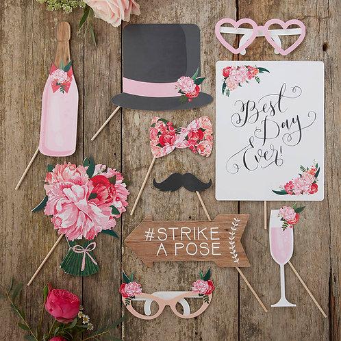 Wedding Photo Booth Props - Boho
