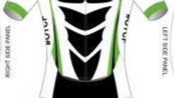 Women's Short Sleeve Tri Suit Black Design