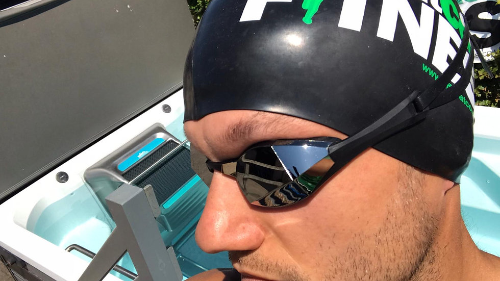 OTCF Black Swim Cap