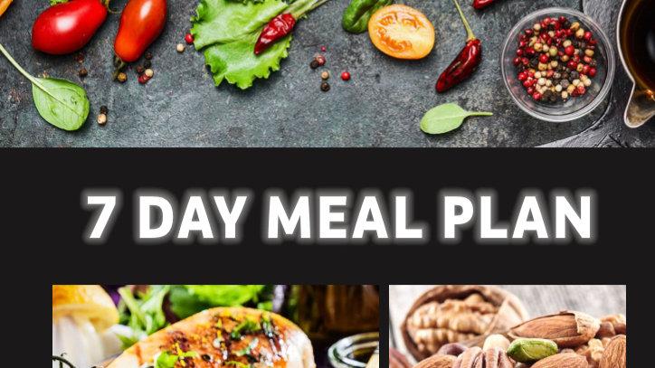 OTCF 7 Day Meal Plan Ebook