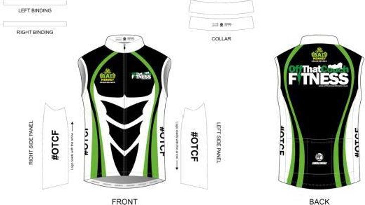 OTCF Women's Cycling Wind Vest