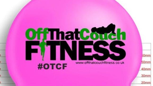 OTCF Neon Pink Swim Cap