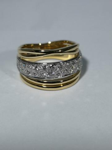 Vera McCullough bespoke dress rings